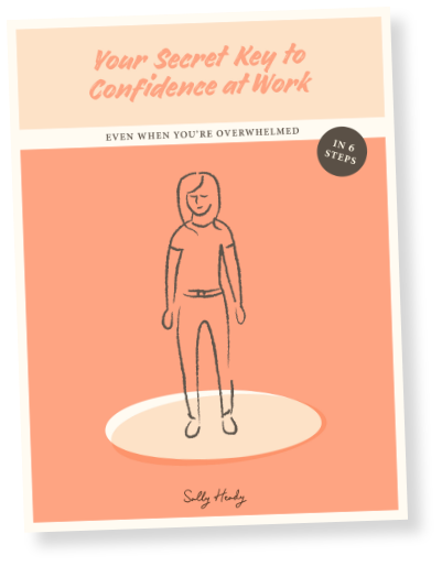 book cover - your secret key to confidence at work